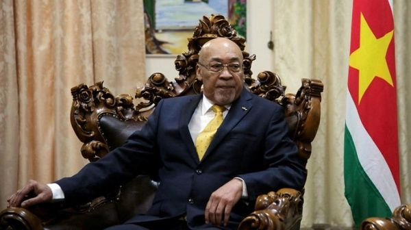 Bouterse alcanzó la presidencia en 2010 y un segundo mandato en 2015.