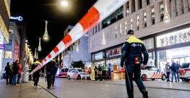 Las fuerzas de seguridad cercaron el perímetro del incidente e investiga el suceso.