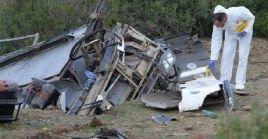 El accidente al norte de Túnez ocasionó la muerte a al menos 24 personas y otras 18 resultaron heridas.