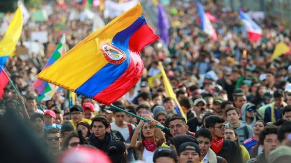 Resultado de imagen para paro nacional colombia