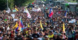 Organizadores de las movilizaciones convocaron a una nueva protesta para este miércoles.