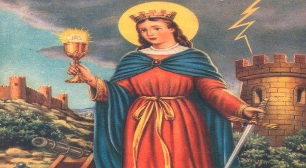 Santa Bárbara La Mártir Católica De La Tormenta Y El Rayo Noticias Telesur