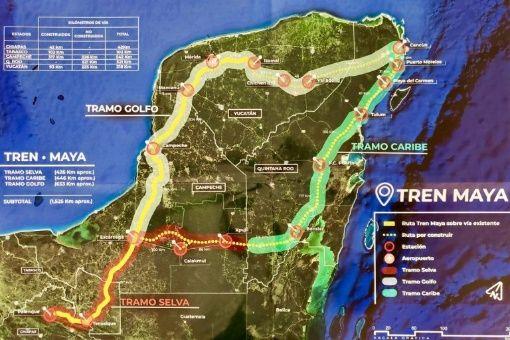 Indemnizan a dos de seis ejidos por donde transitará el Tren Maya