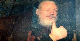 Si se demuestra que Assange fue espiadopor EE.UU. en la embajada de Ecuador en Londres, el Reino Unido se vería obligado a denegar su entrega.