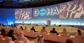 El Premio del Foro de Doha fue concedido al primer ministro de Malasia, Mahathir Bin Mohamad.