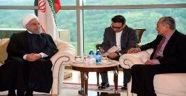 """El presidente iraní Hassan Rouhani, en su reunión con el primer ministro de Malasia, Mahathir Mohamad, alertó sobre la postura """"perder-perder"""" de EE.UU."""