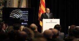 La sentencia contra Torra estipuló una multa de 10 meses con cuota diaria de 100 euros en aplicación del artículo 410 del Código Peral de España.