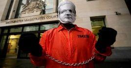 Assange declaró desde el tribunal londinense de Westminster, contra la firma privada española Undercover Global Ltd, encargada de la seguridad en la embajada de ecuador en Londres desde 2015 hasta 2018.