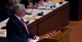 Durante su intervención, el presidente ratificó que Cuba mantendrá lazos de solidaridad y cooperación con Venezuela y su presidente legítimo Nicolás Maduro.