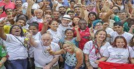 Lula se ha dedicado a recorrer las zonas más pobres al norte de Brasil para compartir con sindicatos, movimientos sociales y las poblaciones.