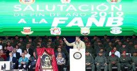 El presidente reiteró que la guerra psicológica tuvo objetivos muy claros y se estrelló con la fortaleza de los militares venezolanos.