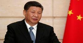 """El presidentechino asegura que""""la situación en Hong Kong ha sido una preocupación para todos durante los últimos meses""""."""
