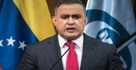 """El fiscal venezolano detalló que la solicitud fue enviada """"a nuestro homólogo de la República Federativa de Brasil, Augusto Aras""""."""