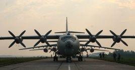 El vuelo transportaba a personas heridas por recientes ataques con destino a la capital sudanesa, Jartum.