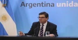El ministro del trabajo, Claudio Moroni, fue el encargado de anunciar oficialmente el decreto de aumento salarial en Argentina.