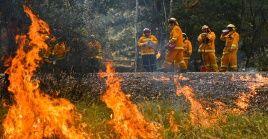 La OMM relaciona los incendios en Australia con los períodos secos prologados por el cambio climático.