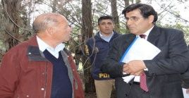 El ministro Carlos Aldana efectuó las investigaciones pertinentes en las comunas de Laja y San Rosendo.