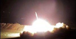 Las bombas de mortero cayeron en la pista de aterrizaje de la base, que se encuentra a 80 kilómetros al norte de Bagdad.