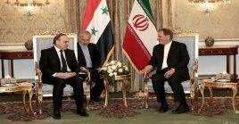 Los representantes sirios reiteraron su apoyo al gobierno y pueblo iraní en su contienda contra los complots de Estados Unidos en la región.