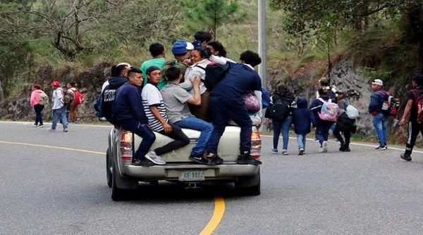 El Gobierno de México precisó que la movilización está integrada por 600 personas, sin embargo, estimaciones de la prensa señalan que son miles.