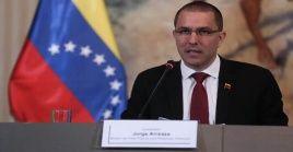 """El diplomático venezolano reiteró """"nuestro respeto y afecto al digno pueblo guatemalteco"""" ante las acciones de su Gobierno."""