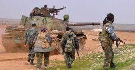 Estos ataques contra los puntos del ejército de Damasco,ponen fin a la tregua entre los grupos armados anunciada el pasado lunes 13 de enero.