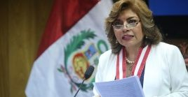 La fiscal peruana inició una investigación contra el presidente del poder Judicial.