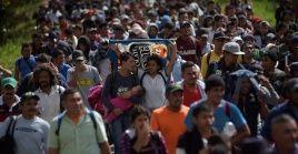 De acuerdo con las autoridades guatemaltecas, entre miércoles y viernes ingresaron al país 4.006 hondureños.