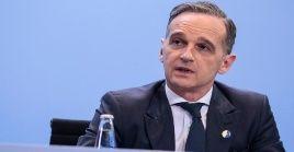El ministro alemán de Relaciones Exteriores Heiko Maas insistió en que no se puede desechar el diálogo para mejorar la situación en Irán.