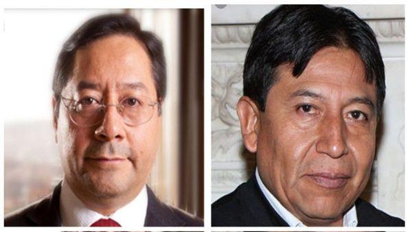 Multitud acompaña a candidatos del MAS a inscripción en Bolivia