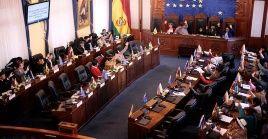 """Con el objetivo de evitar un vacío de poder el 22 de enero, la instancia legislativa sancionó una """"ley de excepción"""", la cual amplía la permanencia del gobierno de facto."""