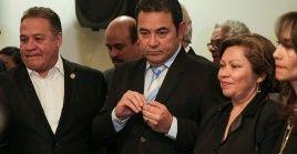La Fiscalía de Guatemala afirma que tiene dos denuncias contra el expresidente Jimmy Morales.