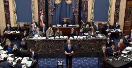 La Cámara Alta, de mayoría republicana, bloqueó una de las pruebas solicitadas por los demócratas en el impeachment contra Trump.