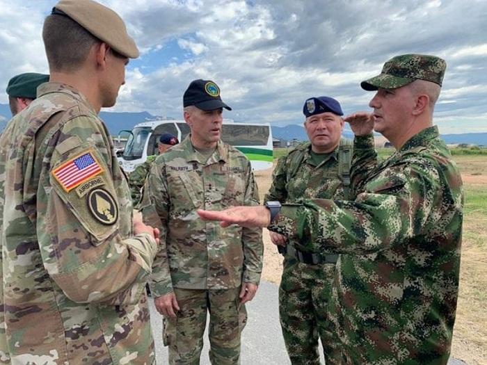 Sindicato colombiano rechaza ejercicios militares de EE.UU ...