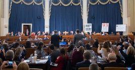 En las dos últimas sesiones de argumentación se se detallarán los motivos por los que acusan a Trump de abuso de poder y obstrucción al Congreso.