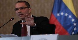 Arreaza denunció la campaña mediática internacional contra Venezuela.