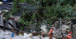 """El gobernador Zema declaró """"tres días de duelo oficial en el estado"""" por las víctimas de los recientes desastres naturales."""