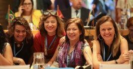 Una veintena de ministras de la Mujer asistieron al evento organizado por la Cepal y ONUMujeres.