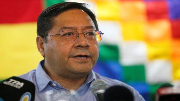 Arce destacó que el gobierno de facto de Bolivia llevaría a cabo una guerra sucia contra su candidatura a la presidencia.