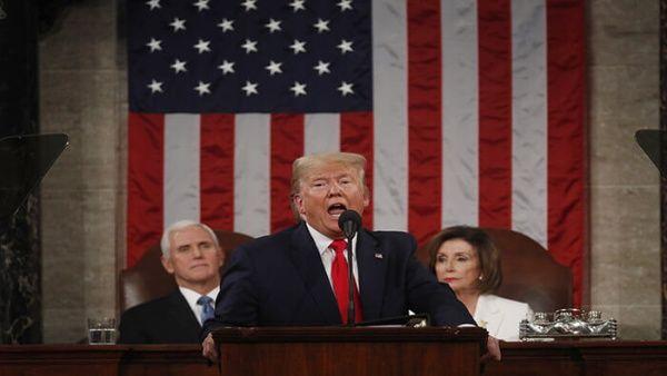 Trump pronuncia discurso del Estado de la Unión con fines electorales