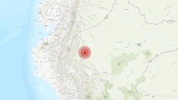El temblor en la región del Amazonas no dejo victimas que lamentar ni daños materiales.