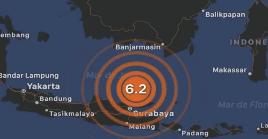 La zona presenta una intensa actividad sísmica y volcánica.
