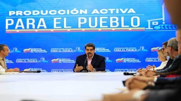 """El mandatario aseguró que Trump no podrá """"aplastar"""" a Venezuela como amenazó, ya que su país """"seguirá su camino a la prosperidad""""."""