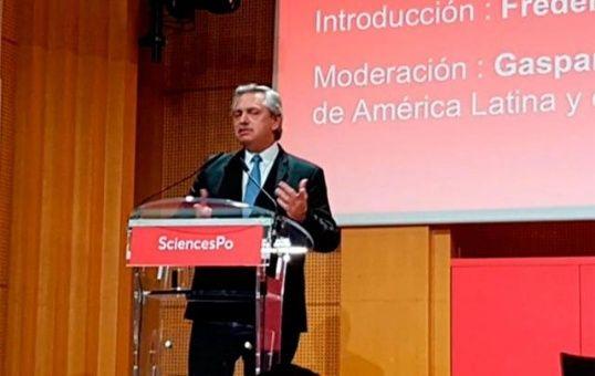 Alberto Fernández por despenalizar el aborto en Argentina