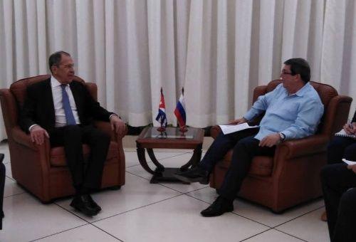 El canciller ruso Serguei Lavrov inició en Cuba una gira por América Latina.