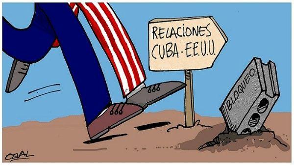 El bloqueo estadounidense contra Cuba es rechazado por la mayoría de la comunidad internacional y de los estadounidenses.