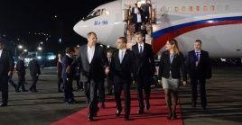 El canciller ruso Serguéi Lavrov concluirá en Venezuela su gira por América Latina.