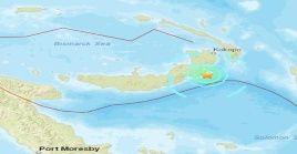 Papúa Nueva Guinea se asienta sobre el Anillo de Fuego del Pacífico, una zona de gran actividad sísmica y volcánica.