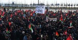 Una de las principales ciudades en las que se desarrollan las protestas de este domingo es Estambul, en Turquía.