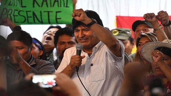 Aseguran que los golpistas temen a Evo Morales en Bolivia